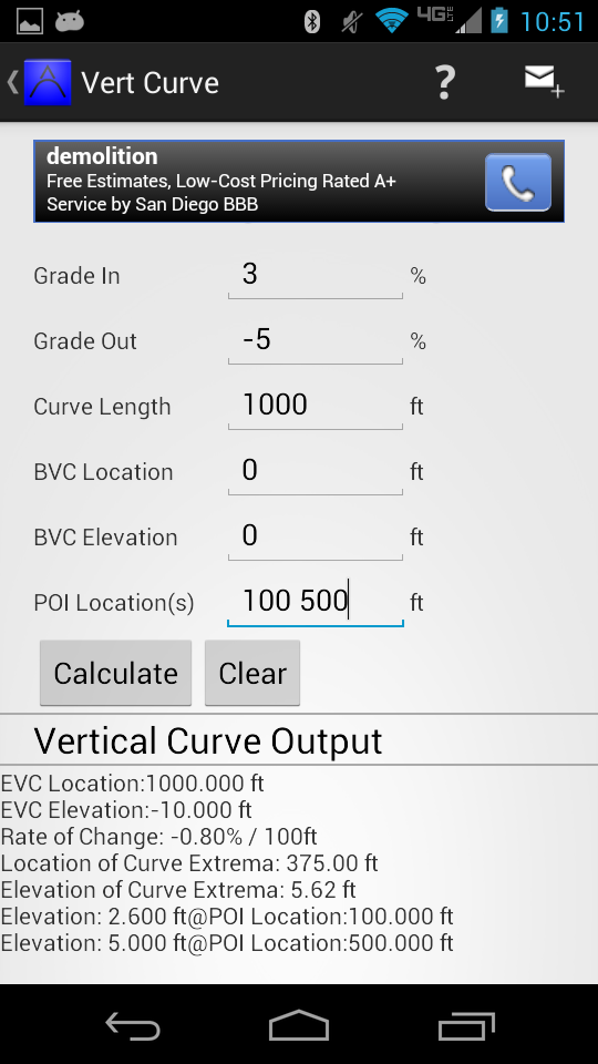 Vert Curve Android App